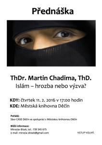 Islám: hrozba nebo výzva