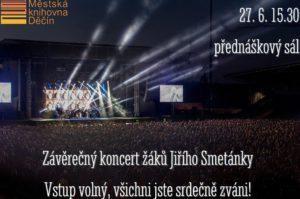 Závěrečný koncert žáků Jiřího Smetánky