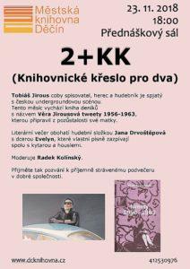 2+KK: Knihovnické křeslo pro dva sTobiášem Jirousem