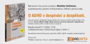 ADHD vdospívání a v dospělosti