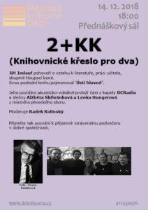 2+KK – Knihovnické křeslo pro dva sJiřím Imlaufem