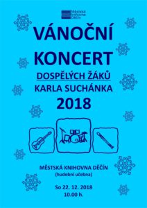 Vánoční koncert dospělých žáků Karla Suchánka