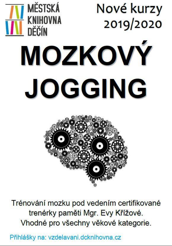Mozkový jogging - plakátek