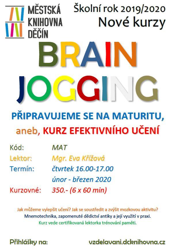 Brain jogging - plakátek