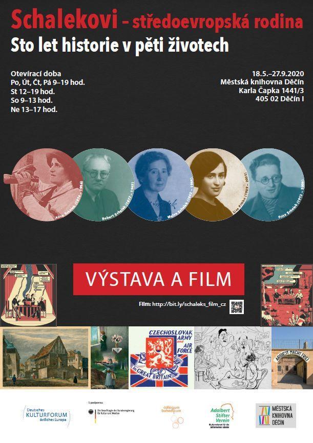 Plakát k výstavě Schalekoví